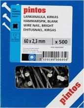 Pintos Lankanaula 60X2,3mm Kirkas 600Kpl