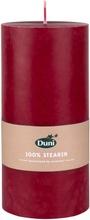 Duni 15X7cm 45H 100% Steariinia Viininpunainen Pöytäkynttilä