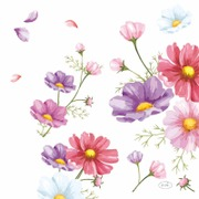 Duni 33Cm 3-Krs Blooms Lautasliina 20Kpl