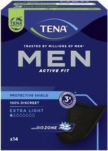 TENA Men Protective shield inkontinenssisuoja14kpl