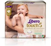 Libero Touch teippivaippa koko 5, 10-14kg 42 kpl