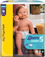 Libero Comfort Teippivaippa Koko 5, 96 Kpl, 10-14 Kg