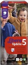 Libero Up&Go Housuvaippa Koko 5, 40Kpl, 10-14Kg