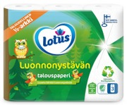 Lotus Luonnonystävän Talouspaperi 3 Rll
