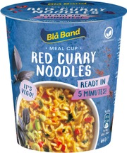 Blå Band Meal Cup Red Curry Noodles Curry-Chili-Nuudeliateria 64G