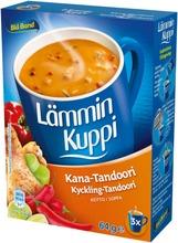 Blå Band Lämmin Kuppi Laktoositon Kana-Tandoorikeitto 3X21g