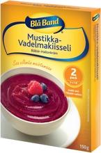 Blå Band Mustikka-Vadelmakiisseli 2X75g