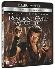 4Kblu-Ray Resident Evi...