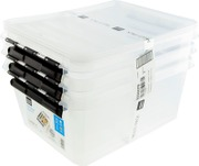 Smartstore Classic Säilytyslaatikko 15, 3 -Pack Kirkas