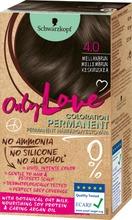 Schwarzkopf Only Love 4.0 Keskiruskea Hiusväri