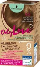 Schwarzkopf Only Love 6.5 Karamellinruskea Hiusväri