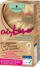 Schwarzkopf Only Love 9.0 Ekstra Kirkkaanvaalea Hiusväri