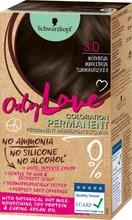Schwarzkopf Only Love 3.0 Tummanruskea Hiusväri