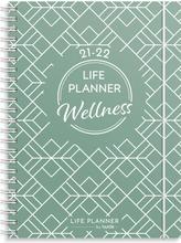Burde Koulukalenteri 21-22  Life Planner Wellness, Fsc Mix
