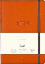 Burde Vuosikalenteri 2022 Business Forma Deluxe Oranssi