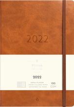 Burde Vuosikalenteri 2022 Business Forma Deluxe Ruskea