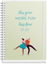 Burde Koulukalenteri 21-22  Compact 4 In 1, Fsc Mix