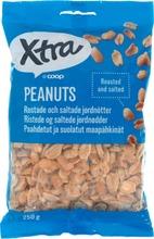 Paahdetut Ja Suolatut Maapähkinät.