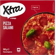 Salamipizza. Pakaste.