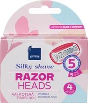 Terä5 Silky Shave 4Kpl