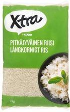 Xtra 2Kg Pitkäjyväinen Riisi