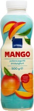 Juotava Mangojogurtti. Vähärasvainen.