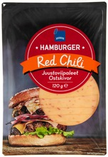 Rainbow 120G Hamburger Red Chili Juustoviipaleet