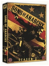 Sons Of Anarchy 2. Tuotantokausi 4Dvd