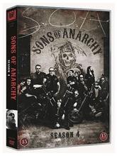 Sons Of Anarchy 4. Tuotantokausi 4Dvd