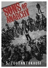 Dvd Sons Of Anarchy - Kausi 5