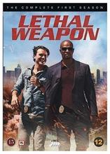 Lethal Weapon 1 Tuotantokausi Dvd