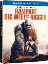 3Dblu-Ray Rampage - Steelbook