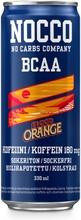 330Ml Nocco Bcaa Blood Orange Del Sol Aminohappoja, Kofeiinia Ja Vitamiineja Sisältävä Hiilihapotettu Energiajuoma