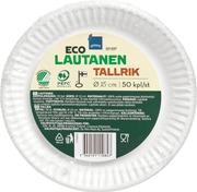 Rainbow Eco Lautanen 15Cm 50Kpl