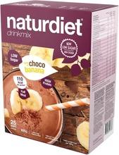 Naturdiet Vlcd Suklaa&Banaani Drinkmix 25Kpl