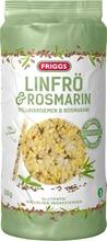Friggs Gluteeniton Maissikakku Pellavansiemenet & Rosmariini 130G