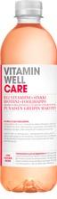500Ml Vitamin Well Care, Punaisen Greipin Makuinen, Vitaminoitu Hiilihapoton Juoma