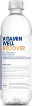 500Ml Vitamin Well Recover Hyvinvointijuoma, Seljanmarjan Ja Persikan Makuinen Vitaminoitu Hiilihapoton Juoma