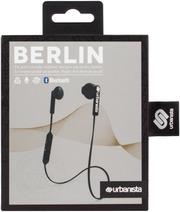 Urbanista Berlin Bluetooth Nappikuuloke, Dark Clown – Musta