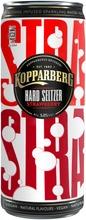 Kopparberg Hard Seltzer 5,0% Strawberry, Hiilihapotettu Alkoholijuoma 330Ml Tölkki