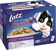 Latz 12x100g AGAIL Senior Suosikkilajitelma Hyytelössä lajitelma 4 varianttia kissanruoka