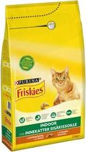 Friskies 1,5kg Indoor Cats Kanaa ja lisättyjä Puutarhavihanneksia kissanruoka