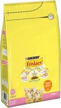 Friskies 1,5kg Junior Kanaa, Maitoa ja Kasviksia kissanruoka
