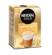 Nescafé 8Kpl/148G Vanilla Latte Erikoispikakahvi Annospussi