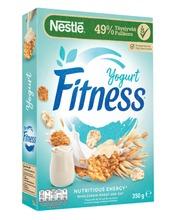 Nestlé Fitness 350G Yogurtflakes Hiutaleita Täysjyvävehnästä-, -Kaurasta Ja Riisistä Sekä Jogurttikuorrutettuja Hiutaleita