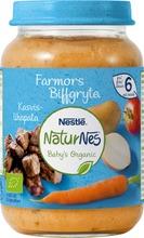 Nestlé Naturnes 190G Luomu Kasviksia, Perunaa Ja Naudanlihaa 6Kk