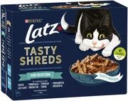 Kissanruoka 12x80g Tasty Shreds