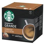 Starbucks Nescafé Dolce Gusto 12 Kaps/102G Medium House Blend Grande Kahvikapseli