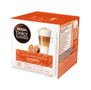 Nescafé Dolce Gusto 16Kaps/145.6G Latte Macchiato Caramel Maitokahvikapseli