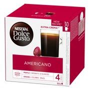 Nescafé Dolce Gusto 30Kaps/240G Americano Kahvikapseli